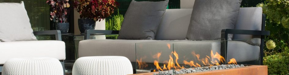 Enhance The Ambience Of Your Garden Or Patio Planika S Outdoor Linear Fireplaces Create Most Beautiful Flames That Will Enrich Living